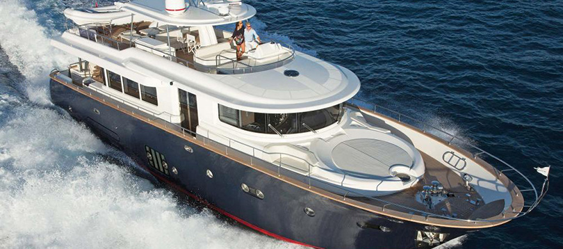 Apreamare - Splendide Maestro 82 - Hull 10 2019 TissoT Yacht Switzerland