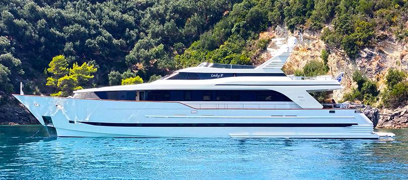 Bugari - Splendide Lady P 2003 TissoT Yacht Schweiz