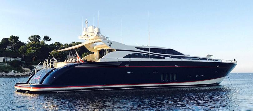 Arno - Splendide Leopard 34 2004 TissoT Yacht Switzerland