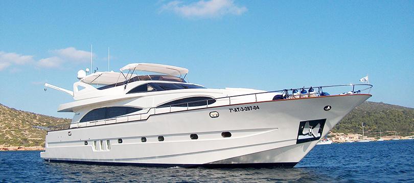 Astondoa - Splendide Custom 2004 TissoT Yacht Schweiz