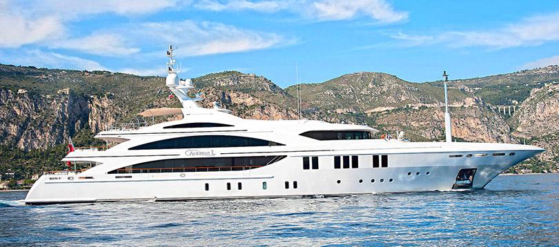 Benetti - Splendide Andreas L 2008 TissoT Yacht Switzerland