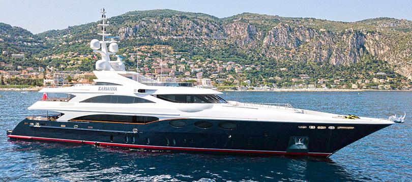 Acheter Superyacht Karianna Benetti TissoT Yachts Suisse
