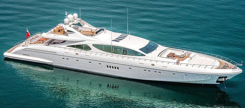 Overmarine - Splendide Mangusta 165 2007 TissoT Yacht Switzerland