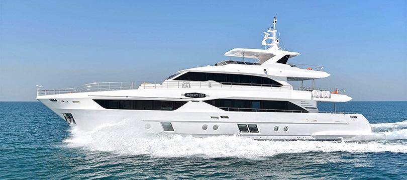 Gulf Craft - Splendide Majesty 110 2017 TissoT Yacht Switzerland