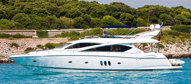 Acheter Superyacht Sunseeker 75 Sunseeker Tissot Yachts International