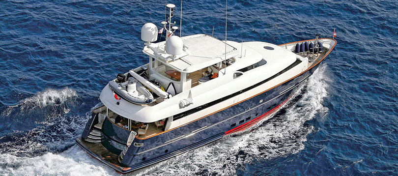 Bugari - Splendide Superba 86 2004 TissoT Yacht Switzerland