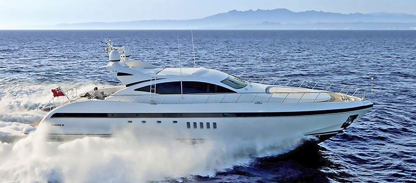 Overmarine - Splendide Mangusta 92 2010 TissoT Yacht Switzerland