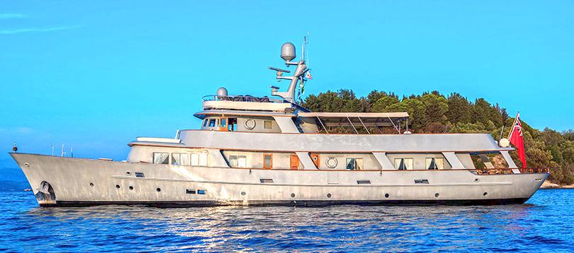 Acheter Superyacht Walanka Hall Russell TissoT Yachts Switzerland