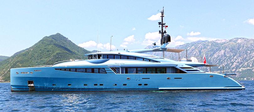 Acheter Superyacht Philmx ISA TissoT Yachts Switzerland