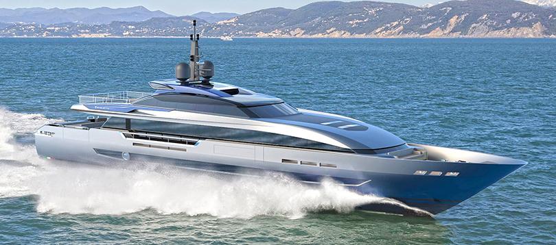 Baglietto - Splendide 43M FAST HT 2021 TissoT Yacht Switzerland