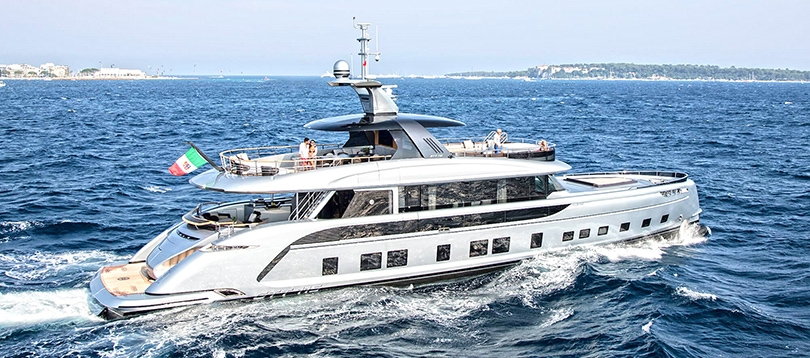 Acheter Superyacht GTT 115 Dynamiq TissoT Yachts Suisse