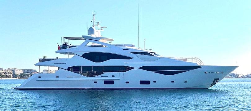Acheter Superyacht 131 Sunseeker TissoT Yachts Suisse