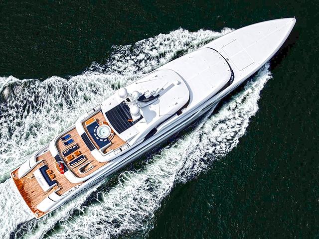Yacht Abeking and Rasmussen 1400 GRT TissoT Yachts Switzerland